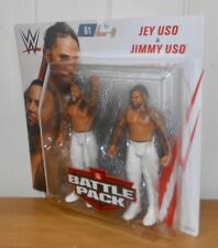 WWE - Jimmy Uso & Jey Uso - Mattel - wrestling figures