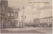 PADOVA - STAZIONE TRAMVIARIA - TRAM 1911