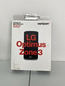LG Optimus Zone 3 (Verizon LTE Prepaid) NEW Open Box - Never Used Cell Phone