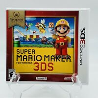 Super Mario Maker Nintendo Selects 3DS Video Game Brand New Factory Sealed