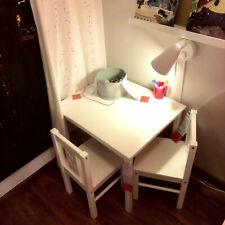 Ikea table pour enfant Kritter en bois massif LxPxH 50x59x50cm Blanc Neu&ovp