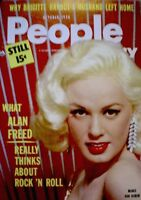 Pinup Magazine 1958 Mamie Van Doren Anita Ekberg People Today Pocket V16N4 NM/M