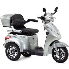 Elektromobil Seniorenmobil Dreirad Elektro Roller, Elektrorollstuhl S1000 Silber