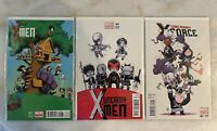 X-MEN #1 SKOTTIE YOUNG VARIANT LOT MARVEL COMICS