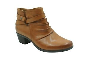 Planet Shoes Comfort Leather MICHELLE saddle