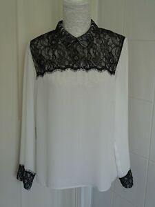 Ladies Long Sleeve Lace Top from TU at Sainsburys Size 14 (more like 12)