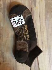 NEW FarmTo Feet Damascus Lite Wt Low Cut Hiking Merino Wool Socks Medium Unisex