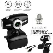 HD Webcam Kamera USB 2.0 3.0 Mit Mikrofon für Computer Laptop PC Windows 10 Mac