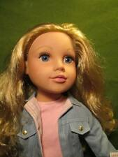 """Doll ~❤️~ 18"""" Geoffrey Journey Girls Long Silky Blond Hair Nice Outfit"""