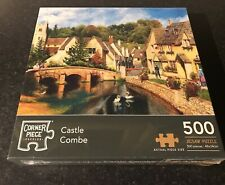 Castle Combe 500 Piece Jigsaw Puzzle, Toys & Games, Brand New