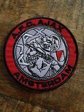 Retro Dutch Ajax Amsterdam football soccer shirt badge/patch Holland sew or iron