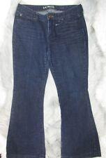 Guess women's size 29 Long Charlie Ultra Flare Dark Deim Jeans 35 Inseam AG25