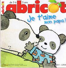 revue abricot  papa maman pâques anglais chat n° 265 * magazine 3 à 5 ans