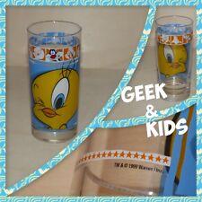 Verre Warner Bros 1999 - Looney Tunes - Titi - Tweety - Ref M2