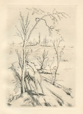 Felix Meseck original etching