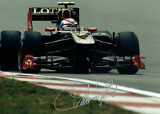 Vitaly PETROV Signed Autograph MASSIVE 16x12 Renault LOTUS F1 Photo AFTAL COA