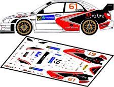 DECALS 1/43 SUBARU IMPREZA WRC #61 - DEVINE - RALLYE IRLANDE 2007 - MFZ D43075