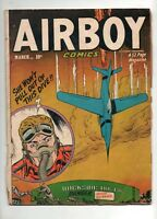 Airboy Comics Volume 8 #2 G/VG 3.0 1951 Hillman Publications.nearly 70 years ago