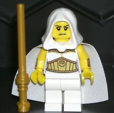 LEGO Star Wars Jedi PRINCESS MINIFIGURE Girl w/ Gold Lightsaber/Armor/Hood/Cape