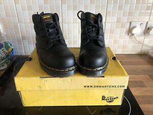 dr martens steel toe cap boots Size 6