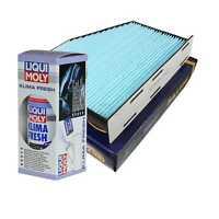 SCT Innenraumfilter SA 1166 incl. LIQUI MOLY Klimaanlagen Reiniger Klima Fresh