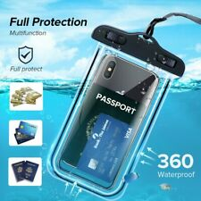 Waterproof Underwater Swimming Cell Phone Case Cover Mobile Pouch Bag Luminous