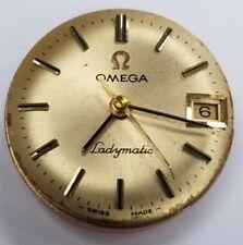 Omega Ladymatic 17 Jewels Face-Movement Date