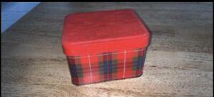 Vintage Arnott Tartan Shortbread Tin