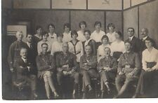 """Army Officers & Civilians Group Photograph"" Photograph, Postcard"