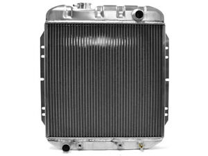 1964-65 Falcon Radiator 6-Cylinder Comet 66 Mustang Aluminum 2-Row Core Ford New