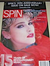 "Madonna / Rare Promo POSTER / ""Spin Magazine cover"" - Exc. New cond. / 24 x 36"""