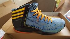 Adidas ADIZERO CRAZY LIGHT 2 Basketball Light Blue AdiZero High top Sneakers 10