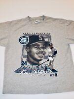 Vintage Seattle Mariners Ken Griffey Jr 1997 MLB Lee T-Shirt