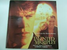 The Talented Mr. Ripley Soundtrack Gabriel Yared (Cd, 1999, Sony Classical) Used