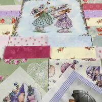 "Pink, Blue, Yellow, La 5/"" /""Sweet Sunbonnet Emma-Pre-cut QUILT KIT-Baby or Child"