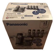 Panasonic KX-TGF575S Bluetooth™ Cordless Telephone System  Base+4 Handsets Black