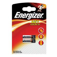 2 X A27 Energizer Baterías Alcalinas de Seguridad de la batería 12V 27A MN27 L828 V27A