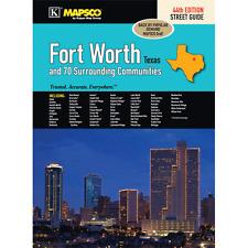 Fort Worth TX Mapsco Street Atlas