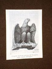 Aquila aquileiese adottata da Napoleone Bonaparte quale simbolo dell'Impero