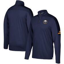Buffalo Sabres adidas NHL Men's Authentic Pro Quarter Zip Pullover Sz. S
