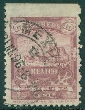 MEXICO : 1898. Scott #284 Very Fine, Used. Nice color. Catalog $175.00.