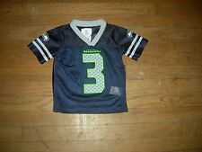 RUSSELL WILSON Seattle Seahawks TODDLERS T2 Home Jersey,NWOT & GREAT GIFT