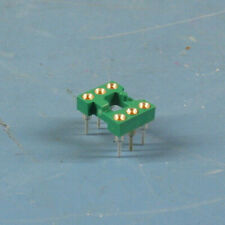 "10 Pcs EMC DIP6 .300""W Tin Machined Pin Sockets for Optoisolators"