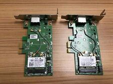 DELL PCI-EXPRESS LOW-PRO DUAL BAND WIRELESS ADAPTER 10YN9 DW1530 1JKGC Lot of 2