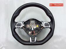 VW GOLF R GTI GTD MK6 SCIROCCO TIGUAN FLAT BOTTOM MULTIFUNCTION STEERING WHEEL