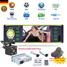 AUTORADIO BILDSCHIRM DISPLAY CAR RADIO PLAYER BLUETOOTH FREISPRECH AUX USB 1DIN