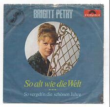 Brigitte Petry 1966 : So alt wie die Welt + So vergehn die schönsten Jahre