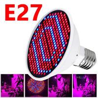 Full Spectrum E27 200 300 LED Grow Light Bulb Lamp for Veg Bloom Indoor Plant