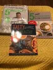 5 INGREDIENTS - QUICK & EASY FOOD [HARDCOVER], 5 SIMPLE By Jamie Oliver & Iota