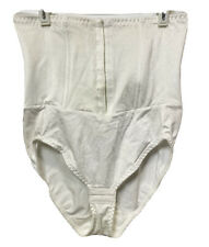 Vintage Flexees Corset High Waisted Panty Brief Tummy Control Shaper White XL